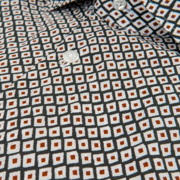Рубашка с длинными рукавами Barba Napoli разноцветная