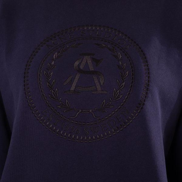 Свитшот Acne Studios темно-синий