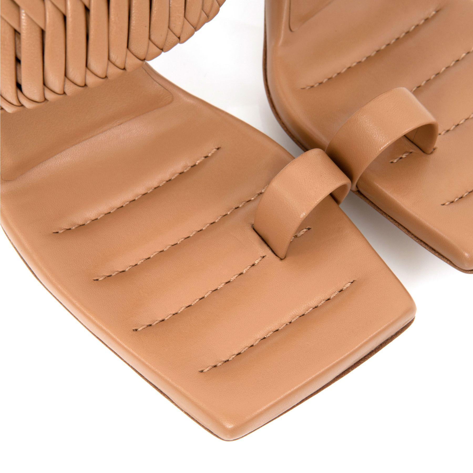 Босоножки Gia ROSIE 1 коричневые