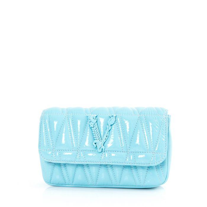 Сумка Versace VIRTUS голубая
