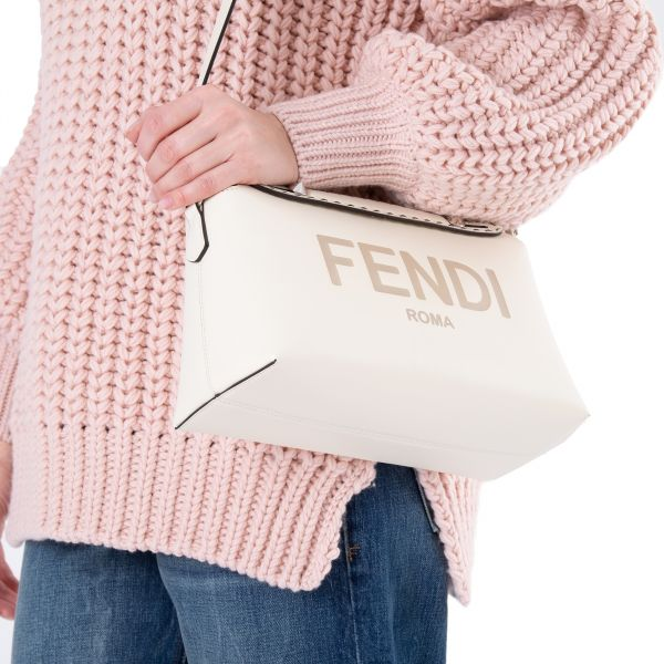 Сумка Fendi BY THE WAY кремовая