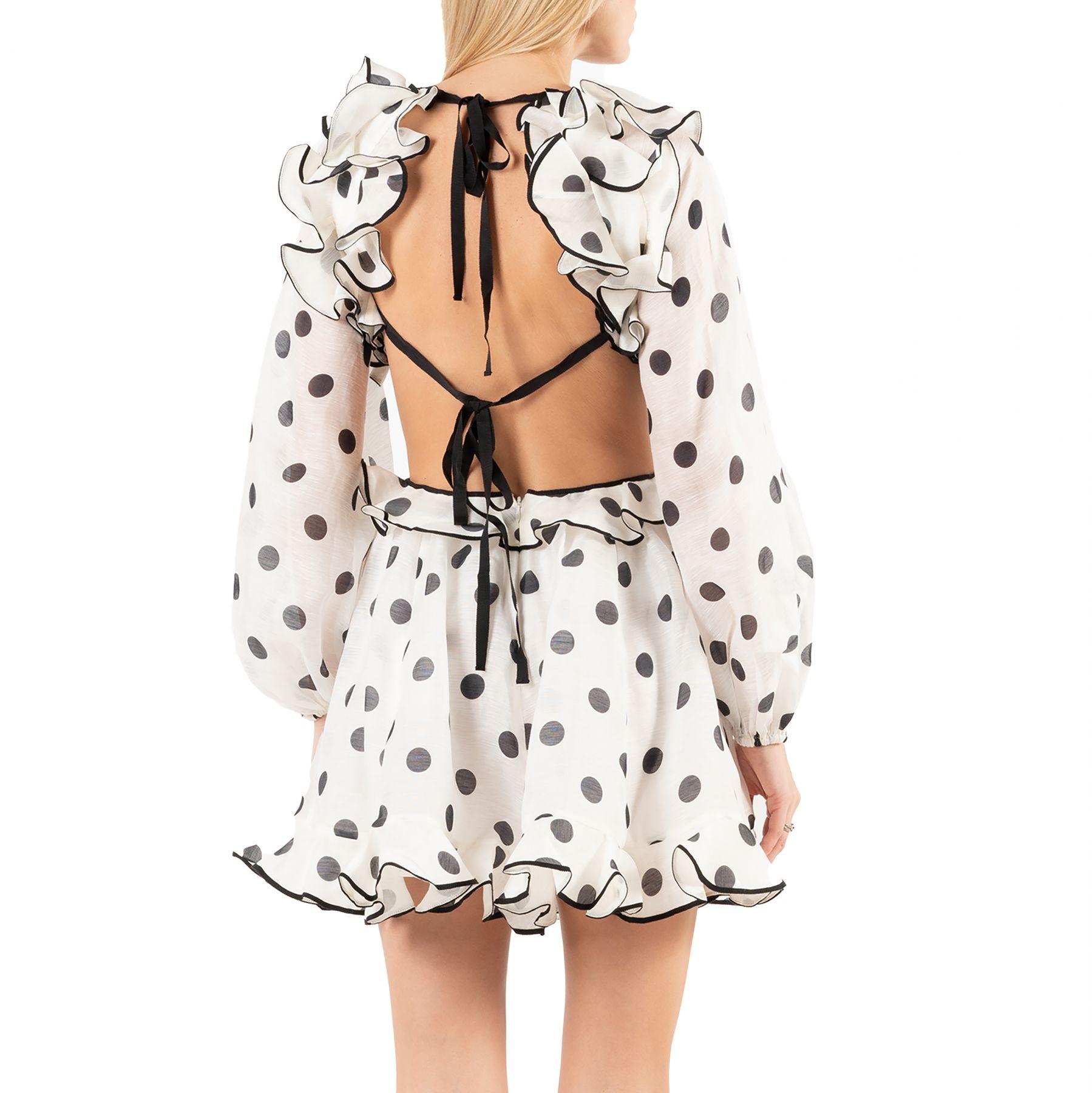Платье длинное Zimmermann LOVESTRUCK белое