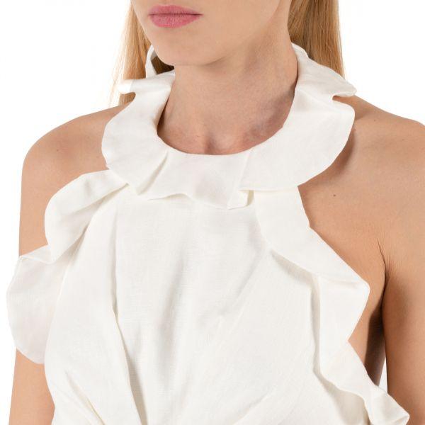 Платье Zimmermann LOVESTRUCK белое