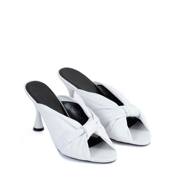Сабо Balenciaga DRAPY белые