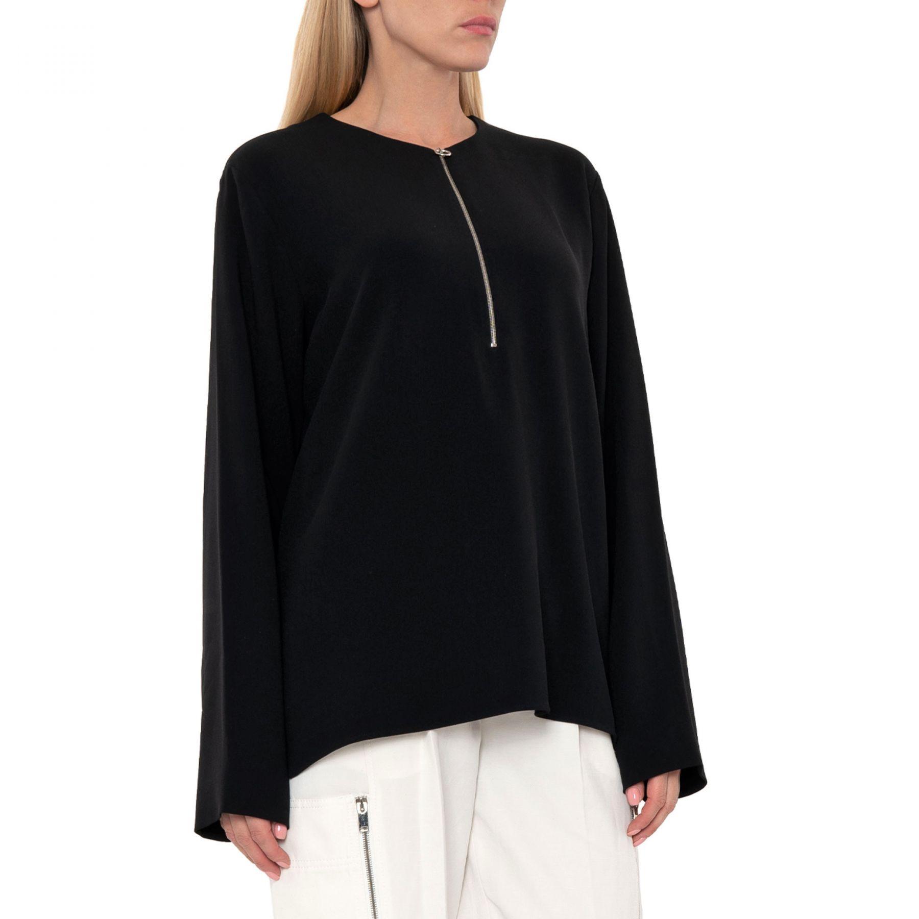 Блуза Stella McCartney Arlesa черная