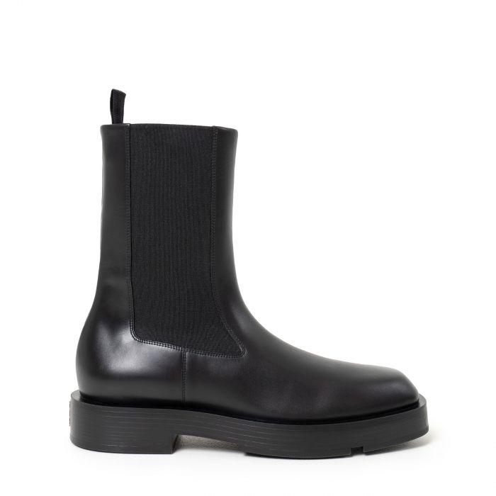 Ботинки флет Givenchy черные