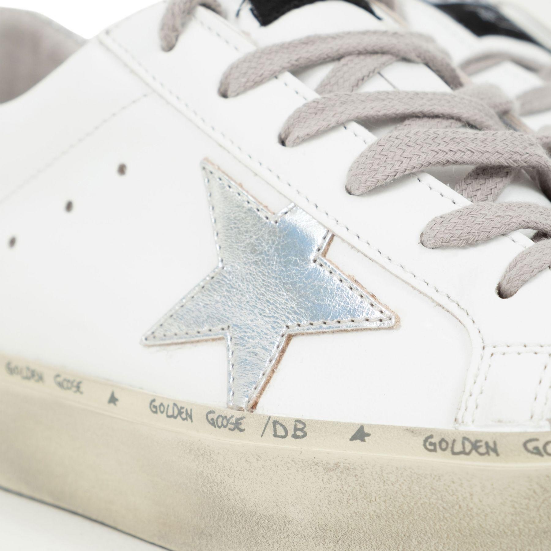 Сникеры Golden Goose Hi Star белые