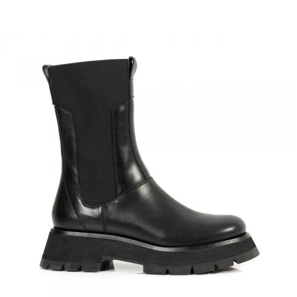 Ботинки флет 3.1 Phillip Lim Kate Combat Boot черные