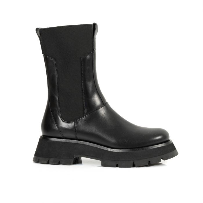 Ботинки флет 3.1 Phillip Lim Kate Combat Boot черные
