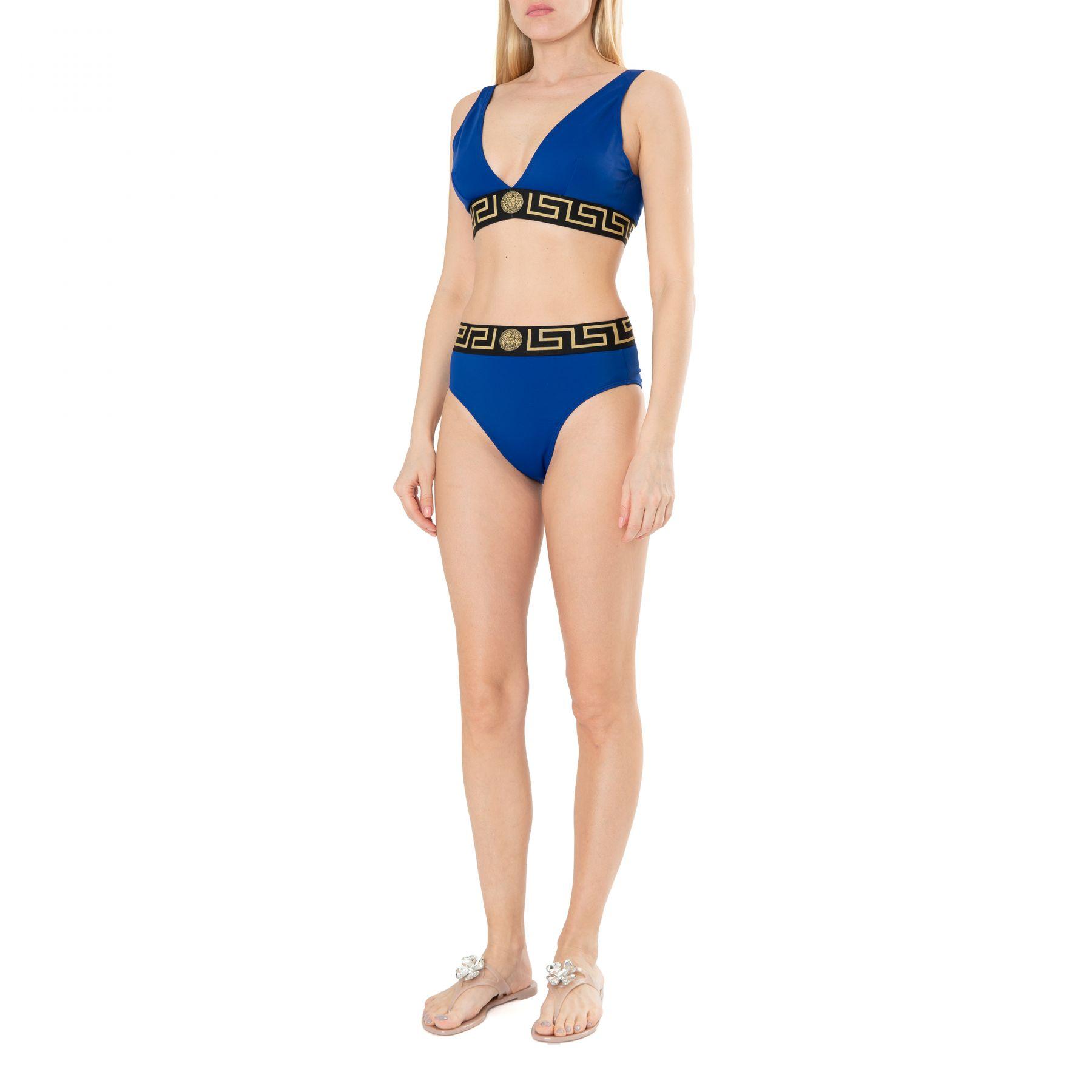 Купальник Versace синий