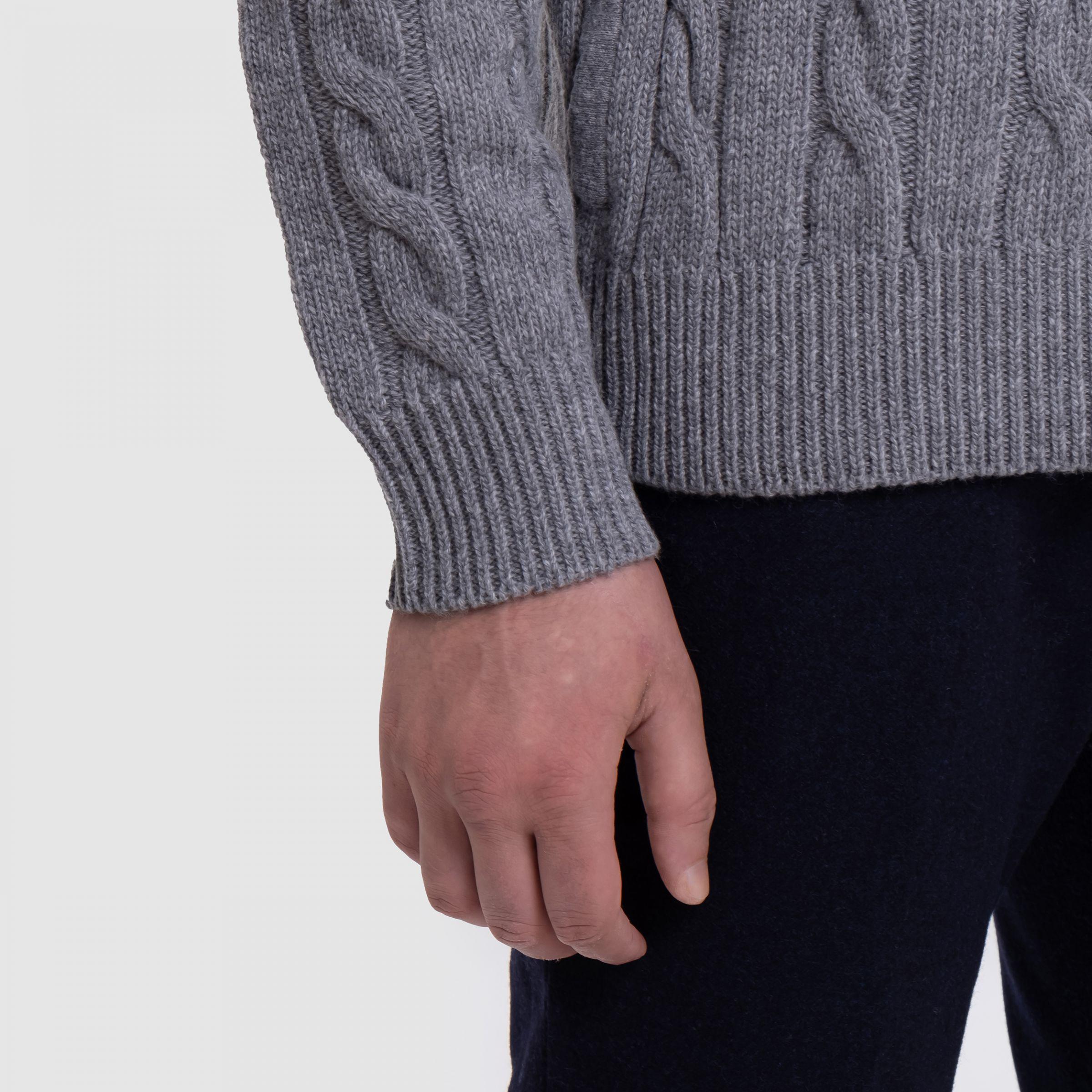 Кардиган Tombolini серый