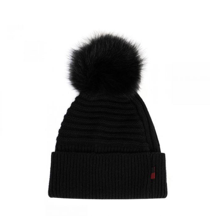 Шапка Woolrich черная