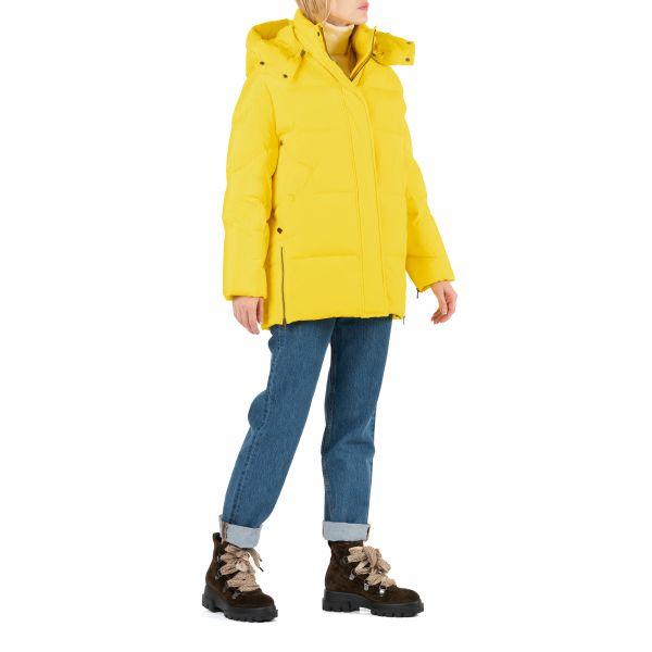 Пуховик Woolrich Aurora желтый