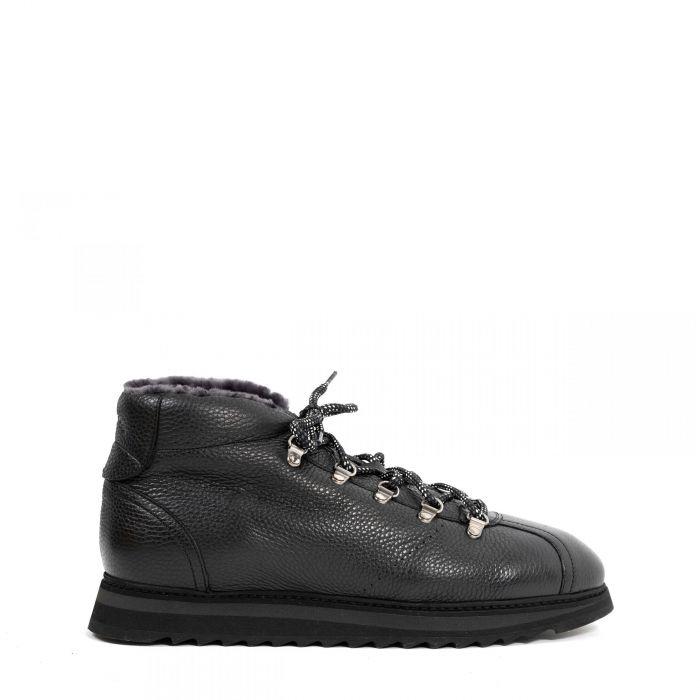 Ботинки на меху Doucal's черные