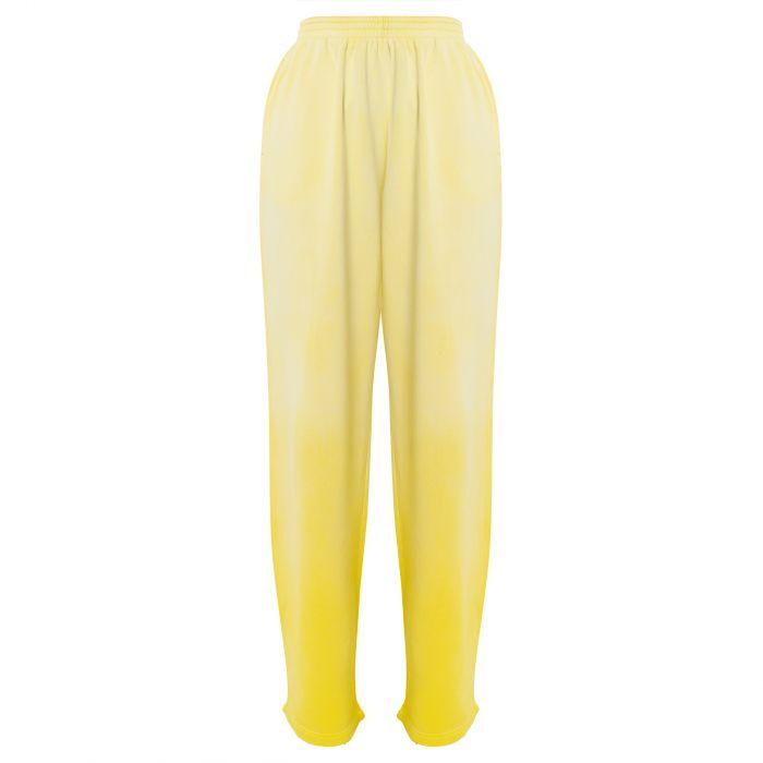 Брюки Balenciaga желтые