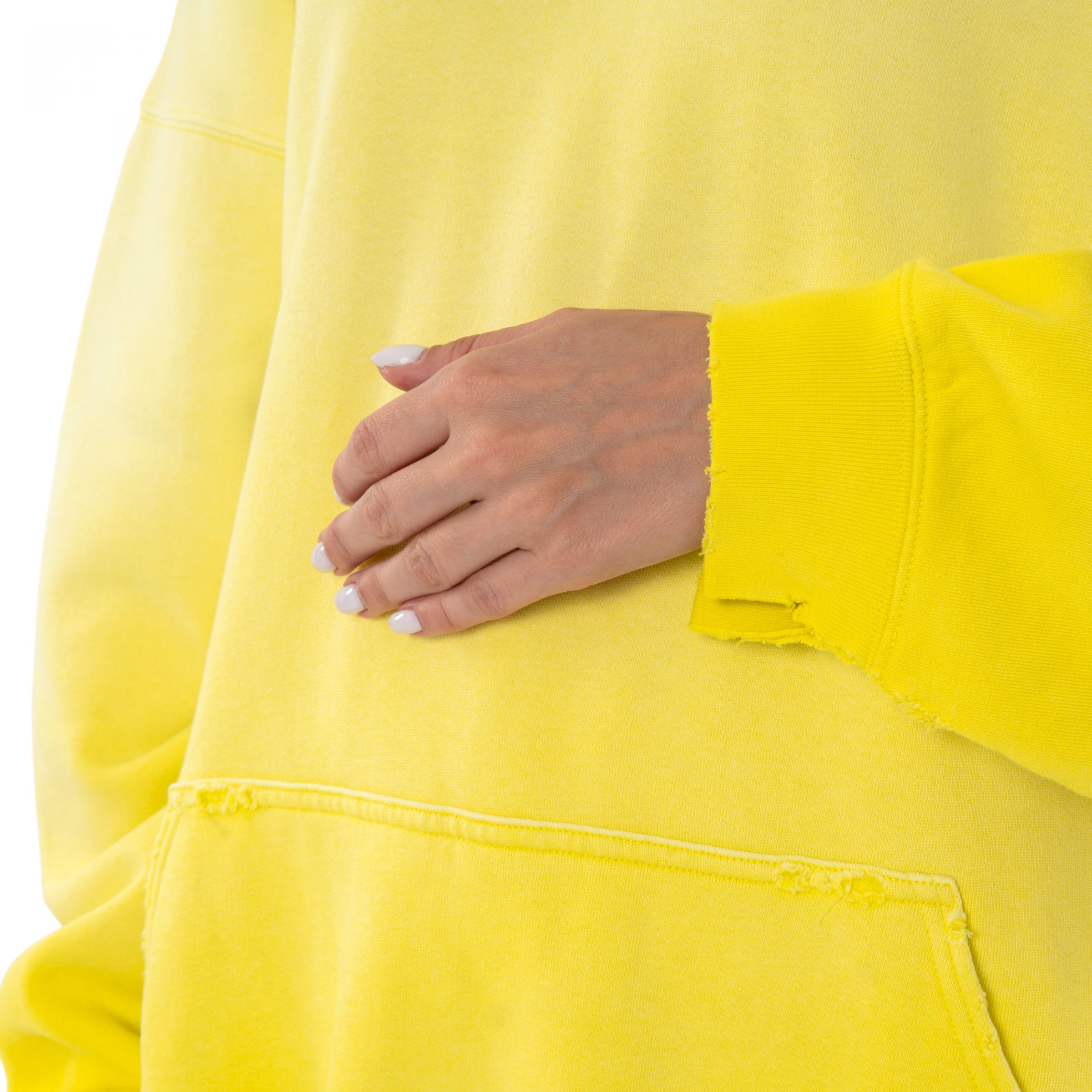 Худи Balenciaga желтое