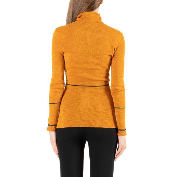 Гольф Victoria Beckham оранжевый