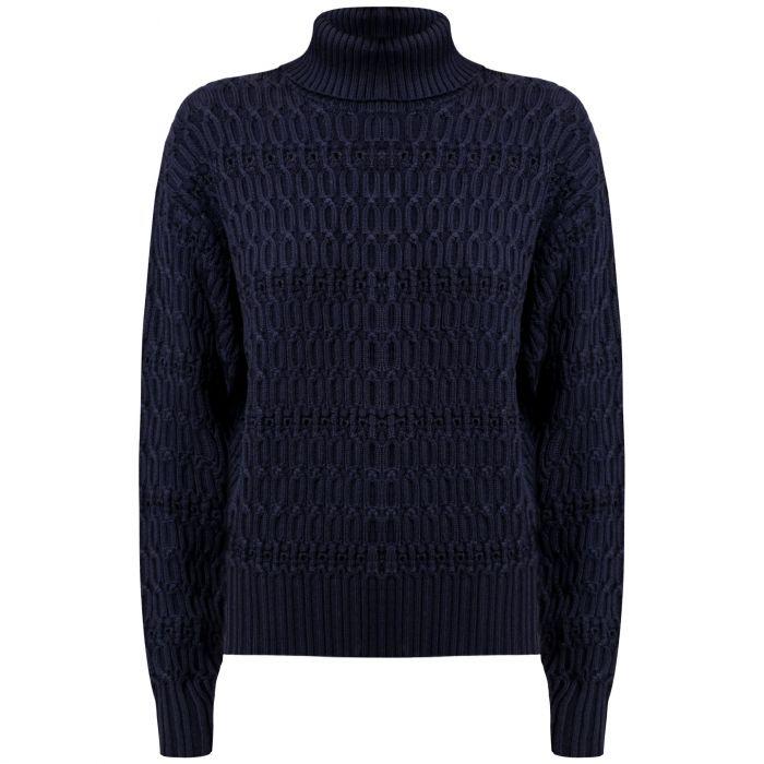 Свитер Victoria Beckham темно-синий