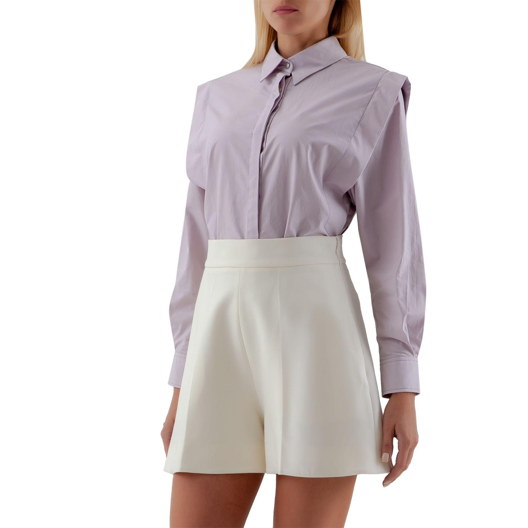 Рубашка с длинными рукавами Isabel Marant Talki лиловая