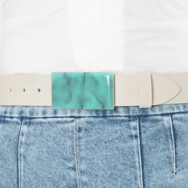 Ремень Isabel Marant Lupo бело-голубой