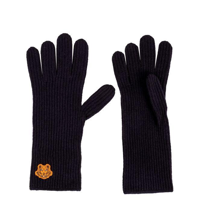 Перчатки Kenzo темно-синие