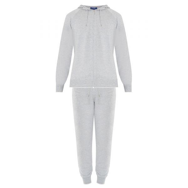 Спортивный костюм Barba Napoli светло-серый