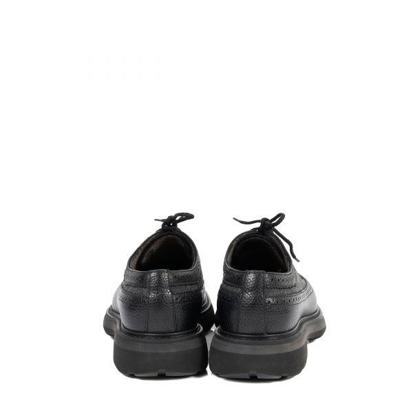 Броги флет Doucal's черно-серые