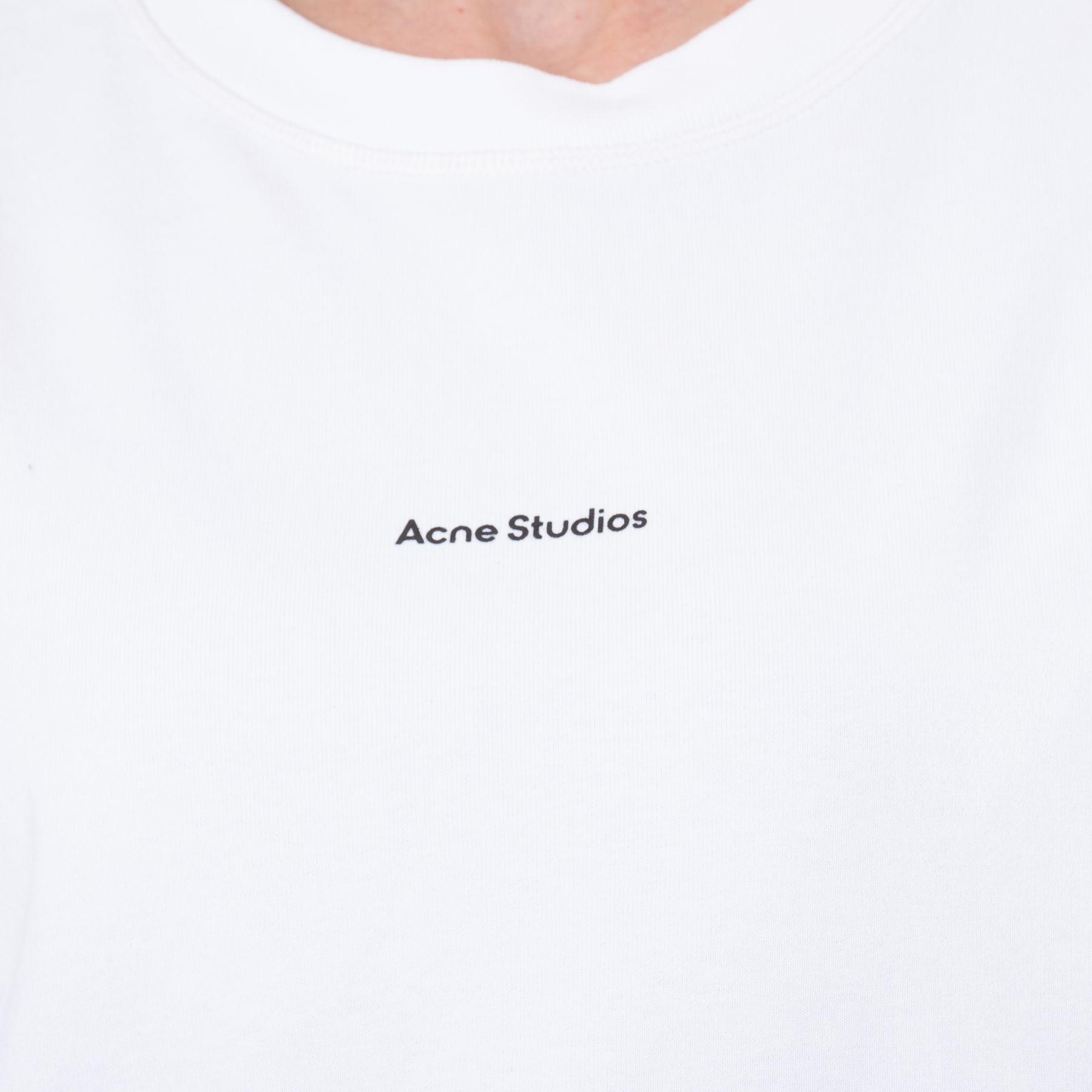 Футболка Acne Studios белая