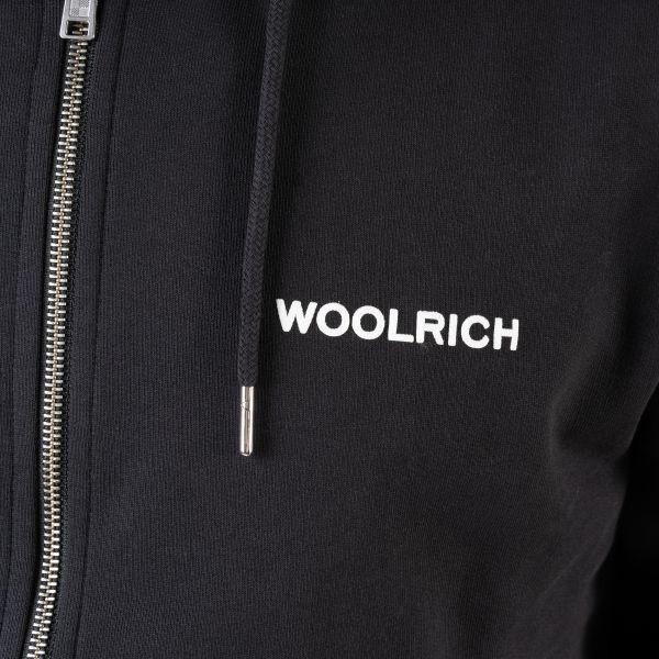 Худи Woolrich черное