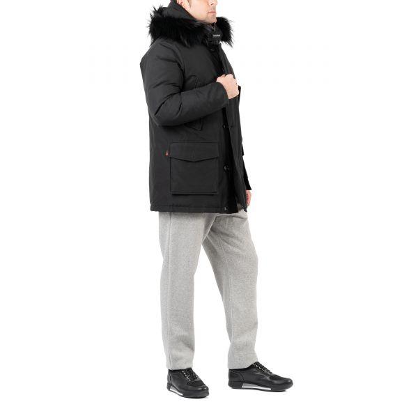 Парка Woolrich Arctic черная