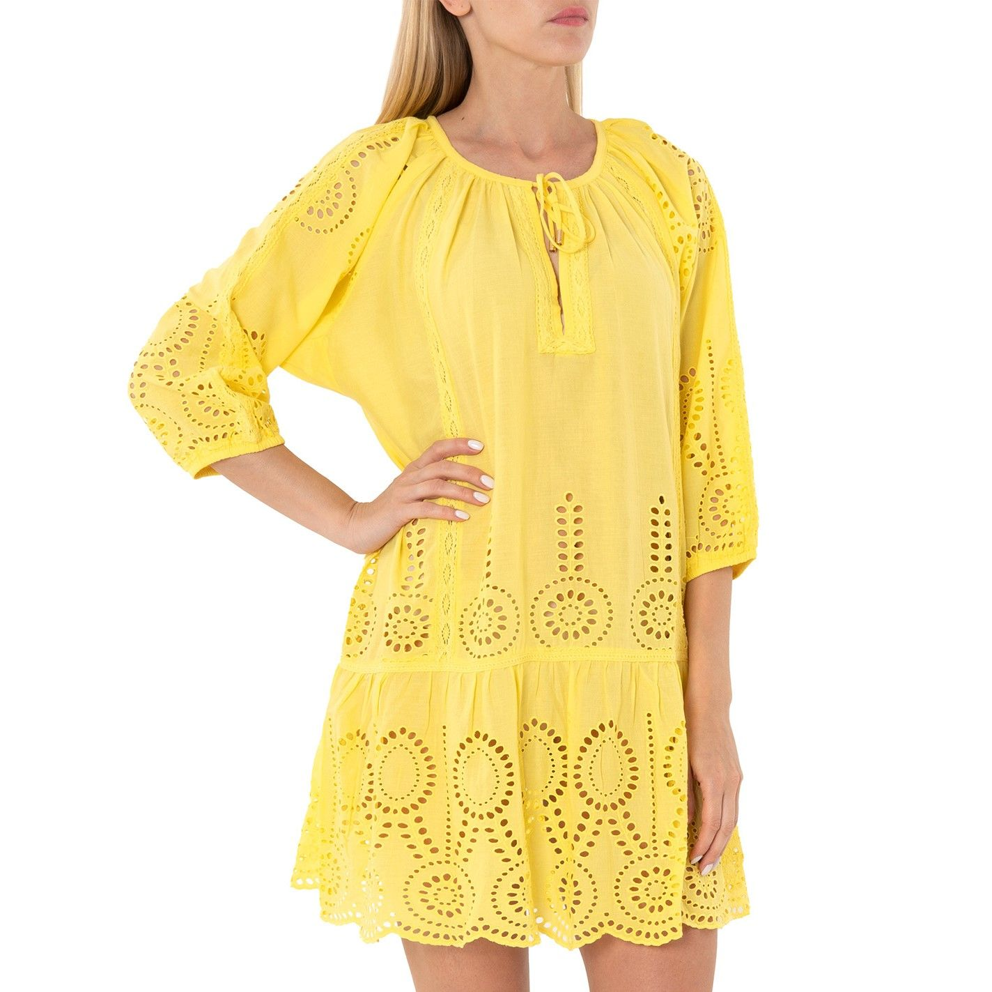 Платье Melissa Odabash ASHLEY желтое
