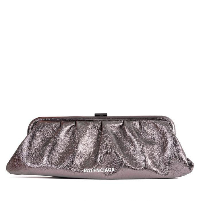 Клатч Balenciaga Cloud розово-черный