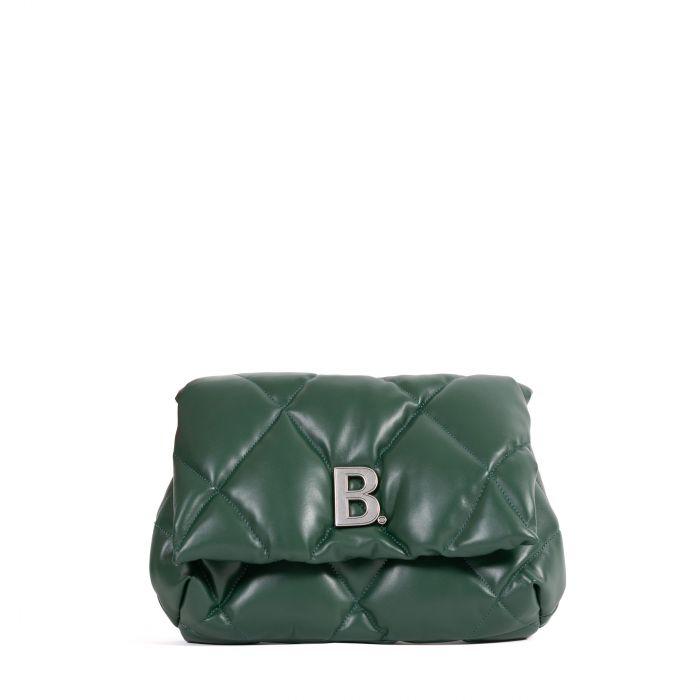 Клатч Balenciaga Touch зеленый