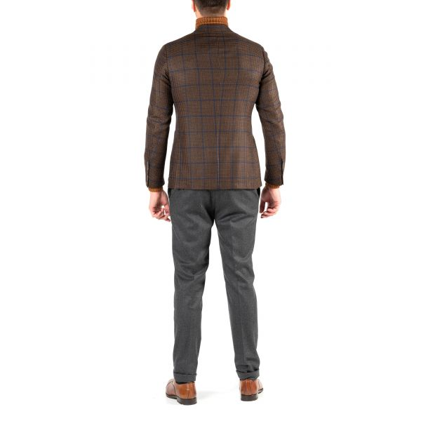 Пиджак Luigi Borrelli коричневый