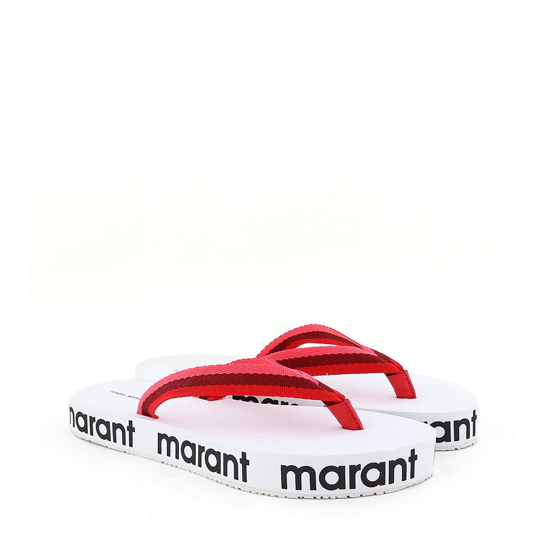Шлепанцы Isabel Marant Playa белые