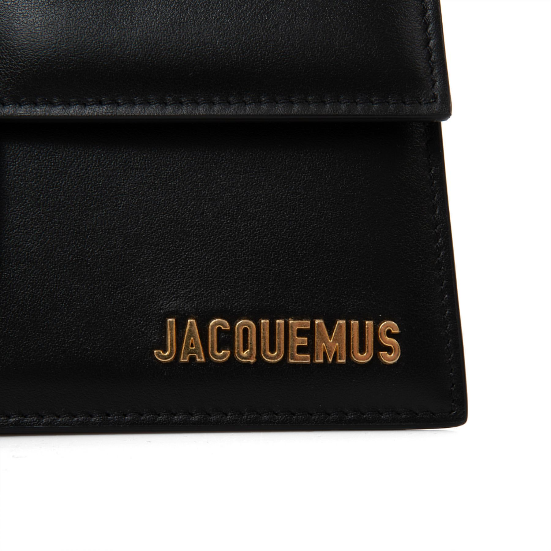 Сумка Jacquemus Le grand Bambino черная