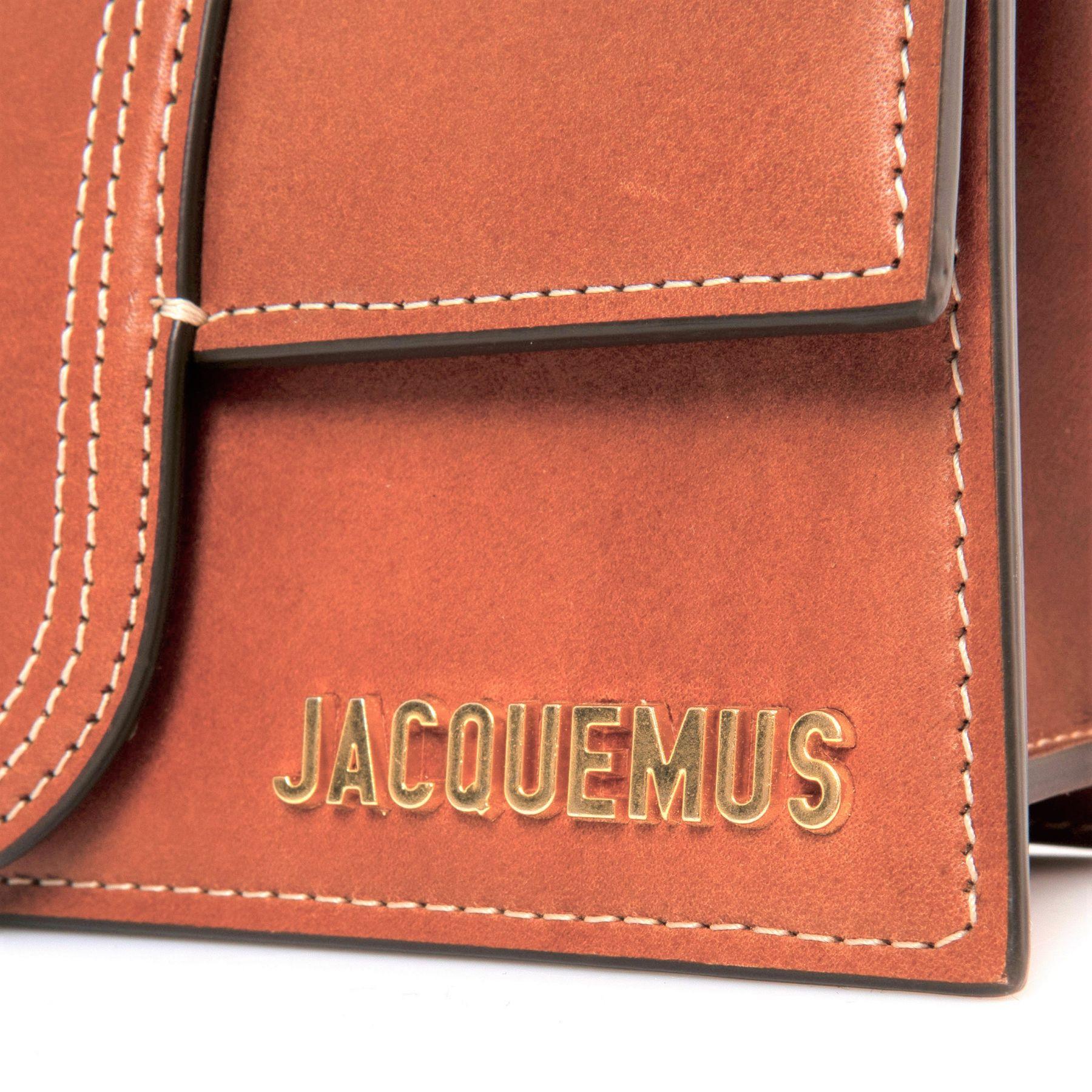 Сумка Jacquemus Le Bambino коричневая