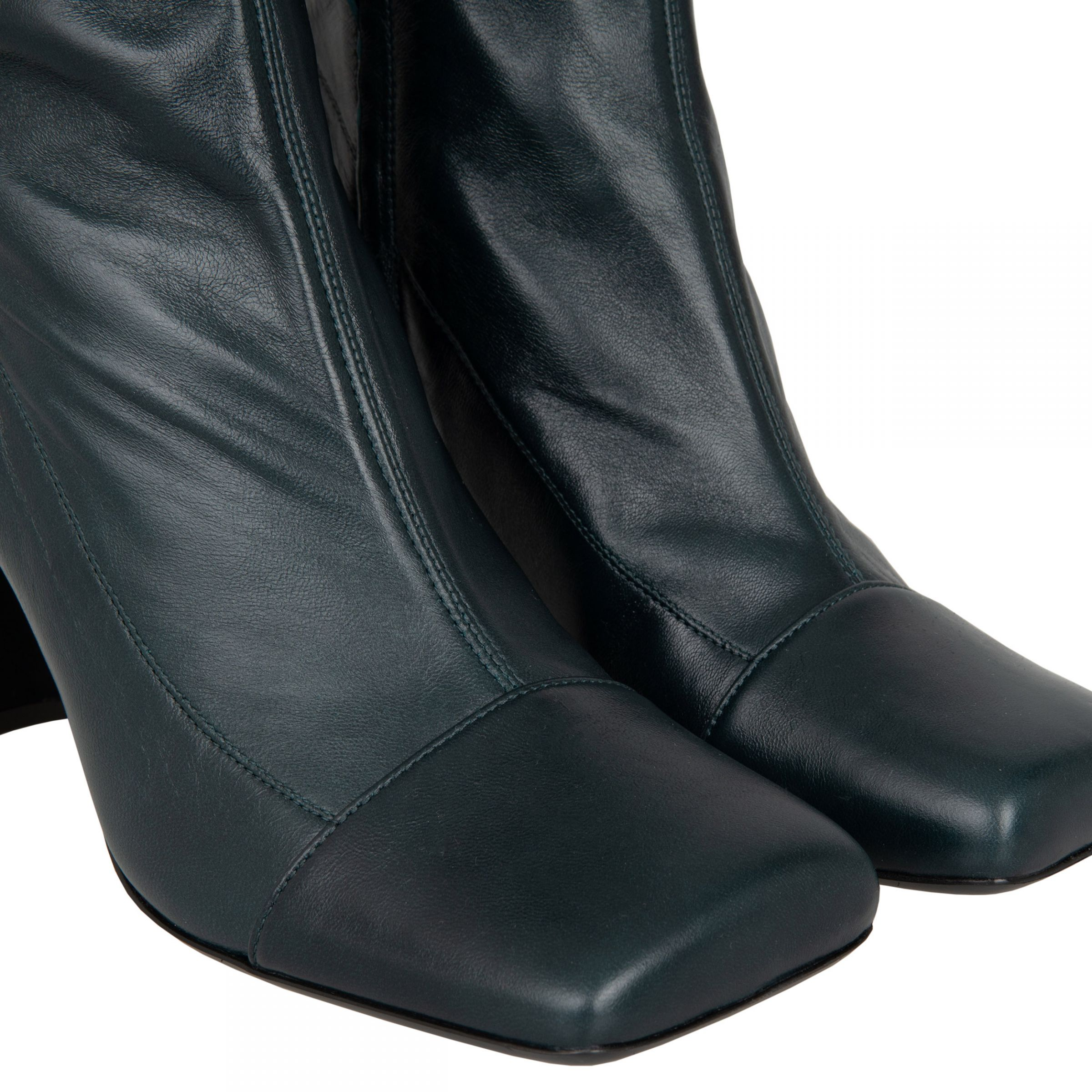 Ботинки Giuseppe Zanotti зеленые