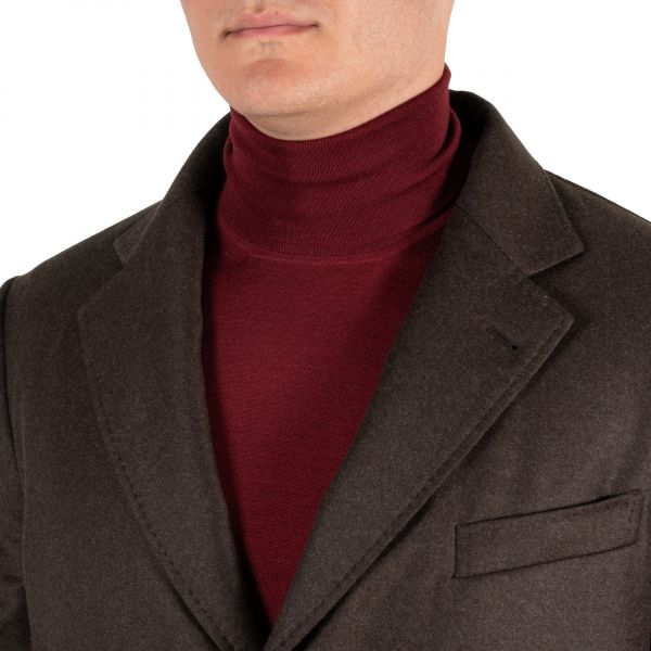 Пальто Tombolini коричневое