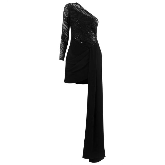 Платье Elie Saab черное