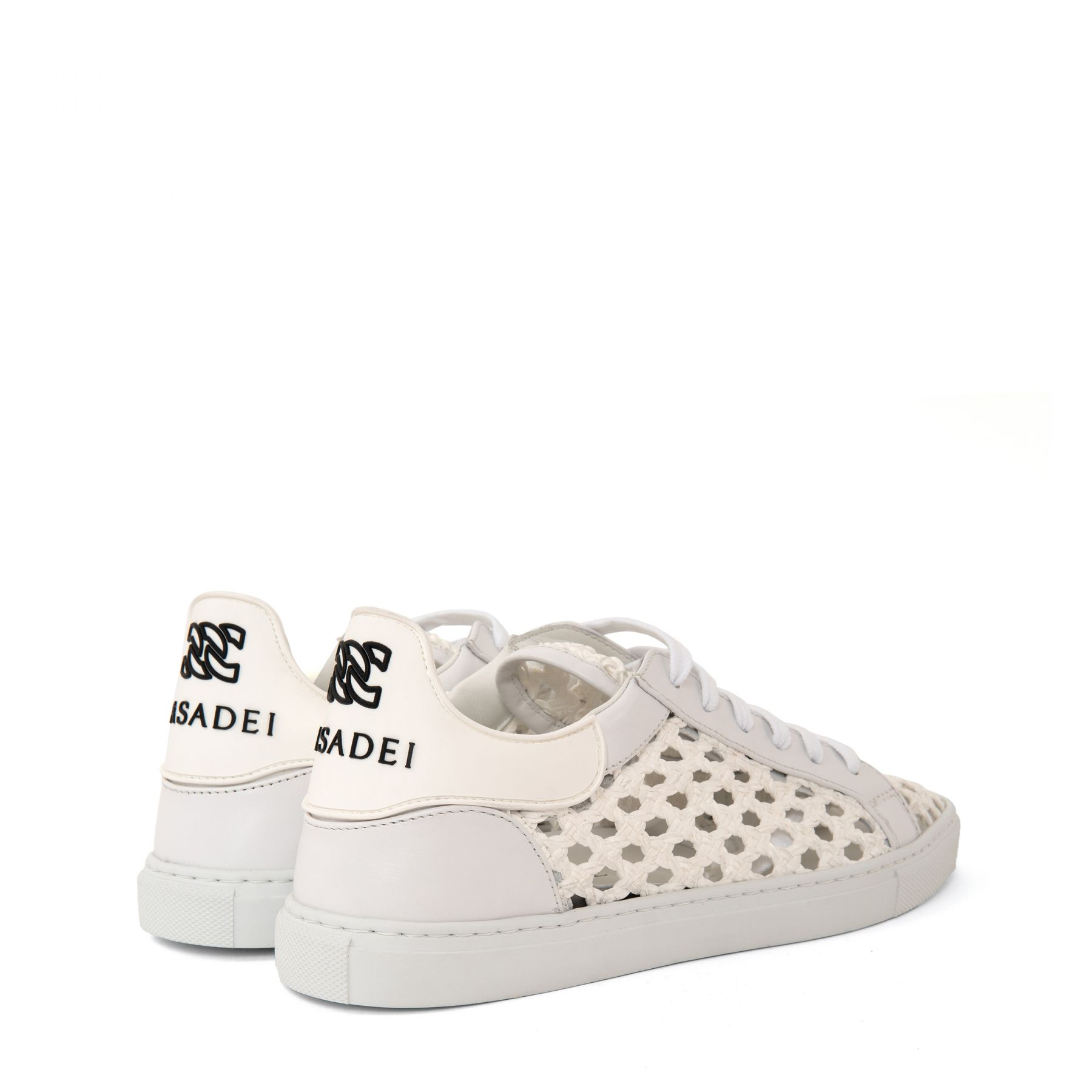 Сникеры Casadei Kicks Versila белые