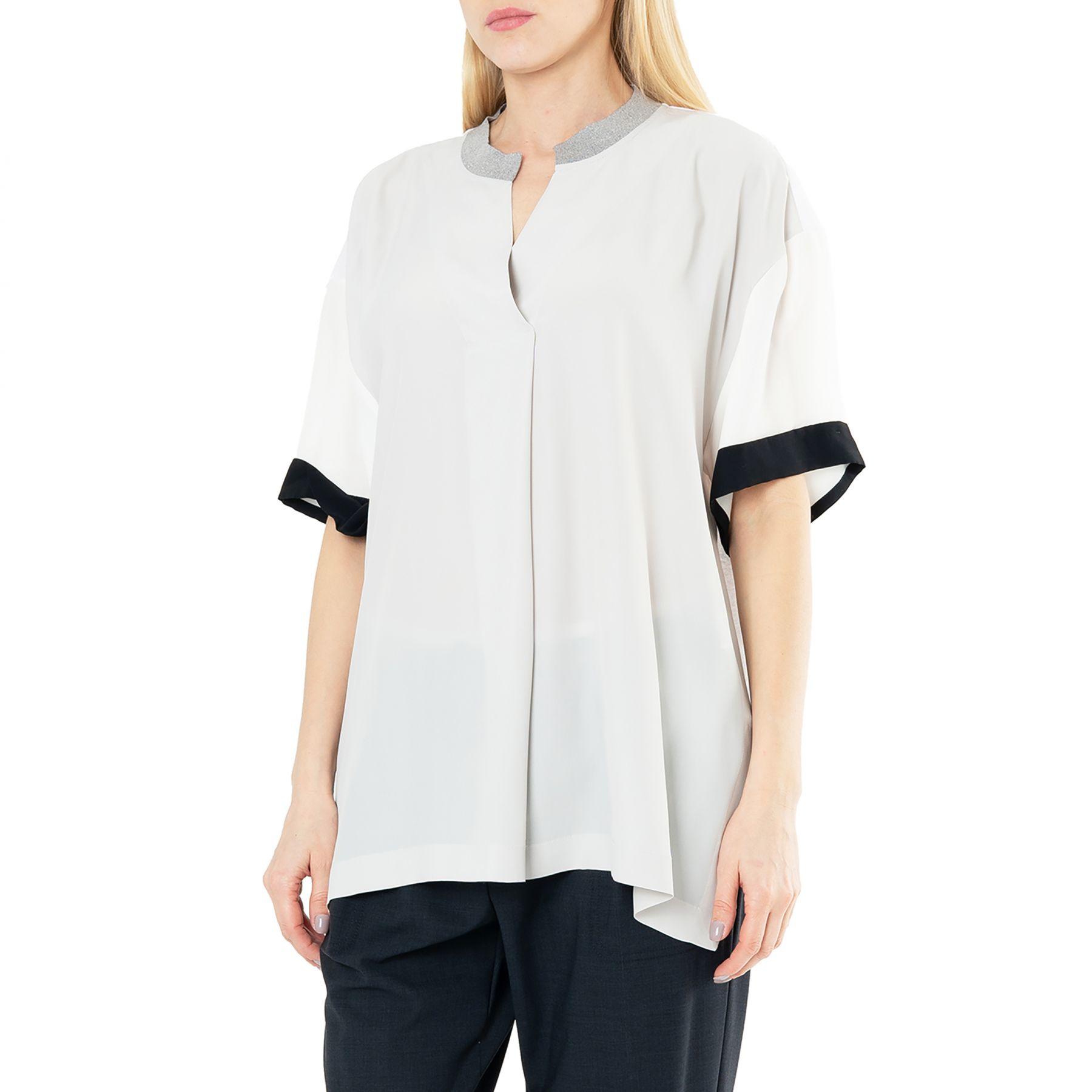 Блуза Lorena Antoniazzi белая