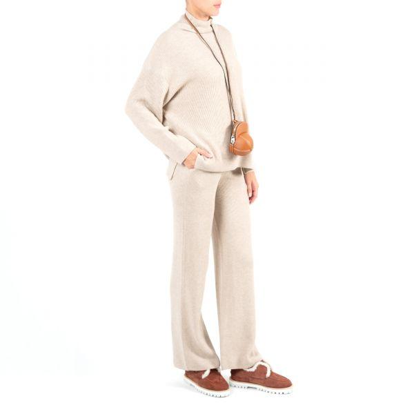 Спортивные брюки Nanushka бежевые