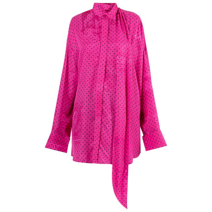 Блуза Balenciaga розовая