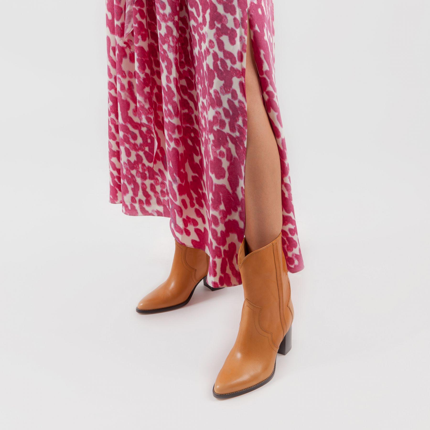 Платье длинное Isabel Marant розовое