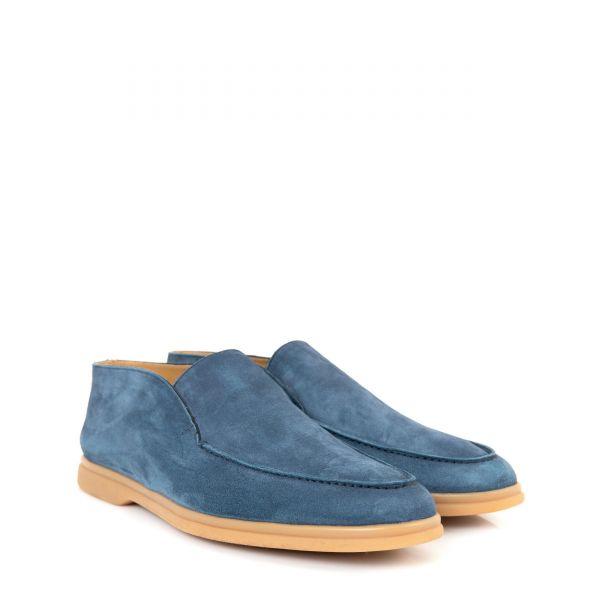 Лоферы Aldo Brue серо-голубые