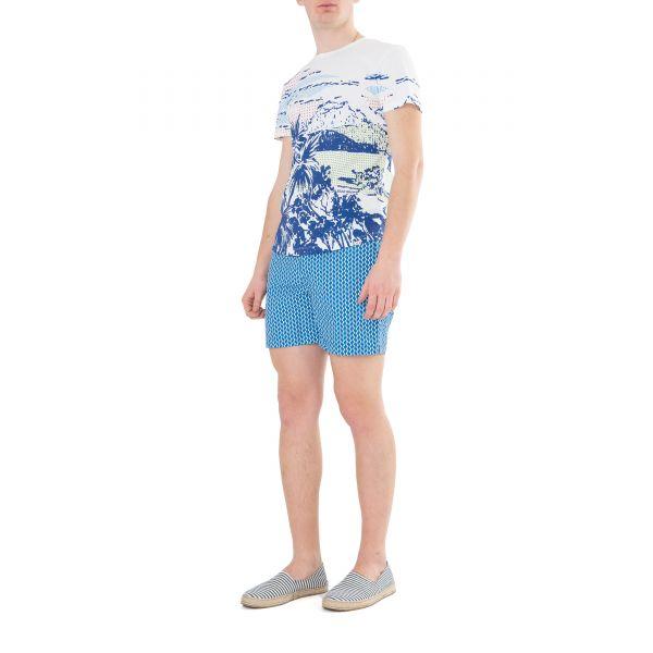 Шорты плав. Orlebar Brown Standard голубые