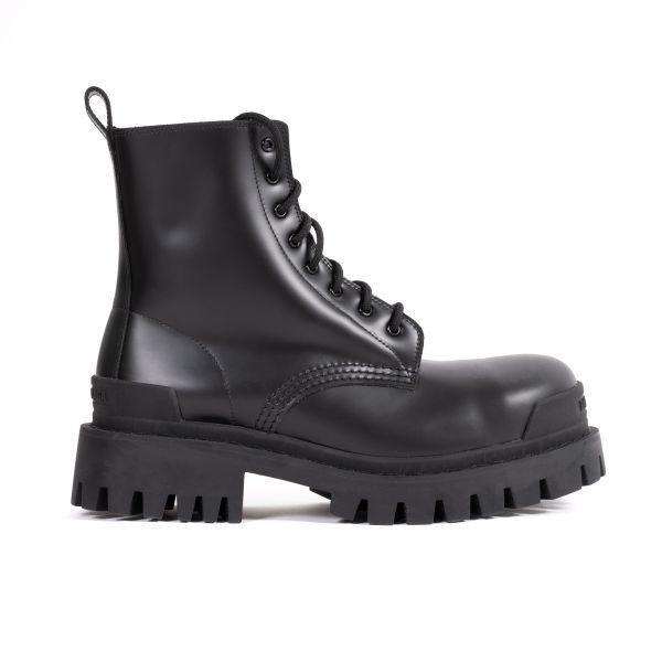 Ботинки Balenciaga STRIKE черные