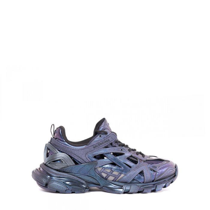 Кроссовки Balenciaga Track.2 фиолетовые