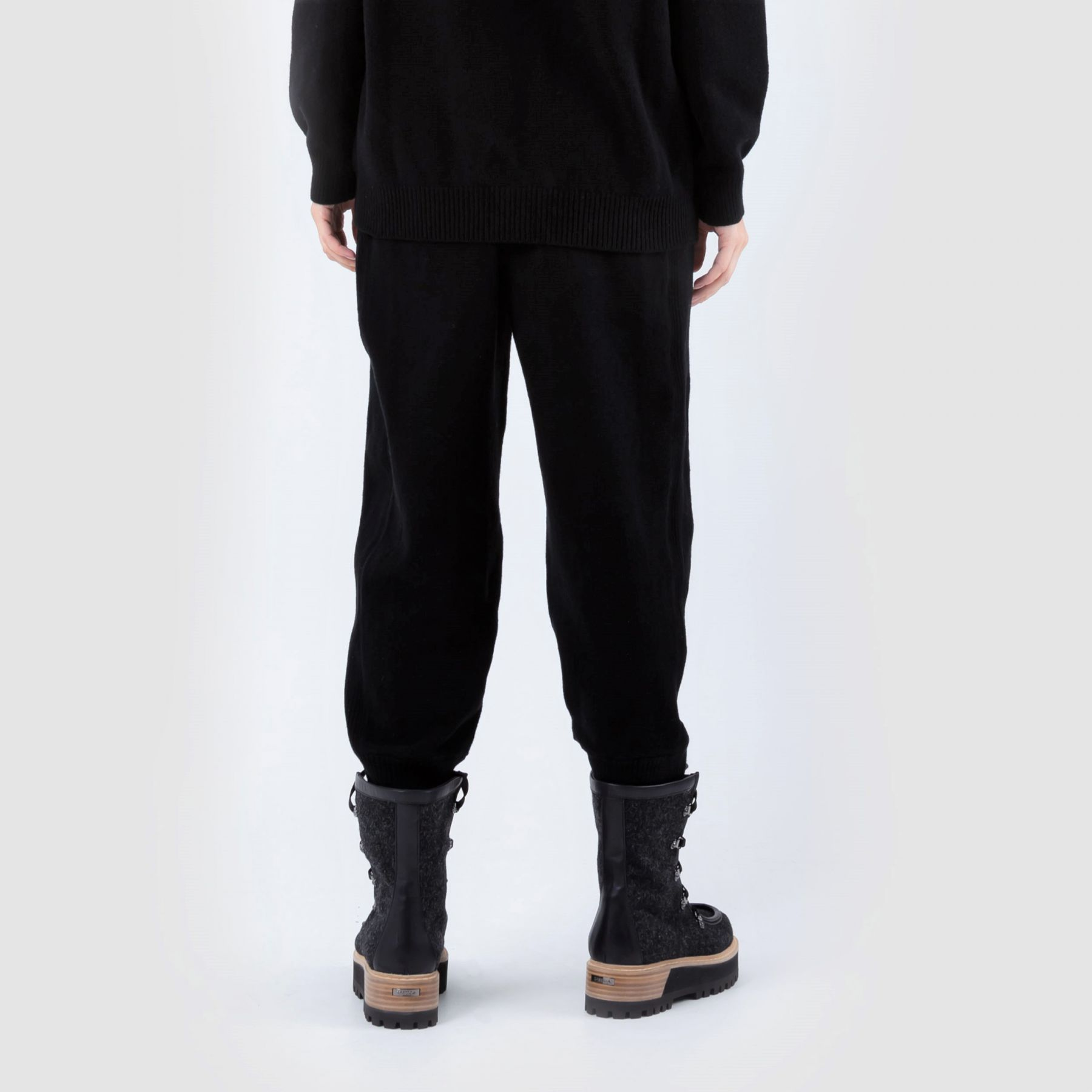 Спортивные брюки Alberta Ferretti черные